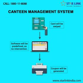 StarLink : Biometric Canteen Management Software