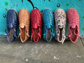 Mexican Huarache Shoes from Brand X Huaraches