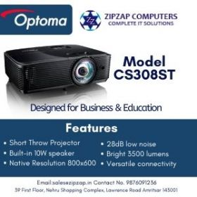 CS308ST - OPTOMA PROJECTOR