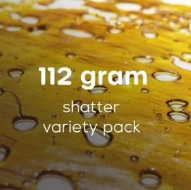 Wholesale Shatter Variety Pack 112 Grams | 50 Cann