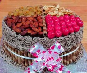 choco dry fruit cake