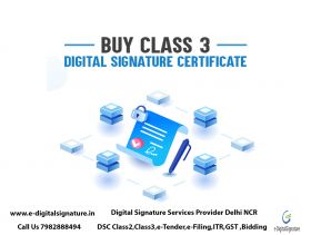 Class 3 Digital Signature Provider in Delhi/NCR