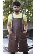 Blacksmith Leather Apron - Iron Man Edition