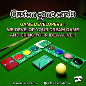 custom game cards | custom cards games