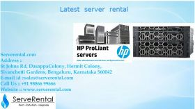 latest servers for rentals