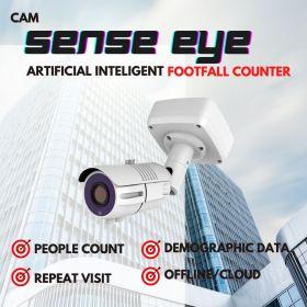 Artificial Intelligent Footfall Counter Camera