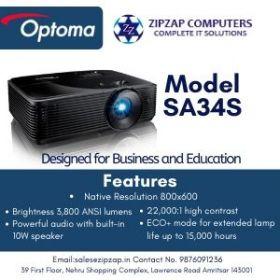 SA34S - OPTOMA PROJECTOR