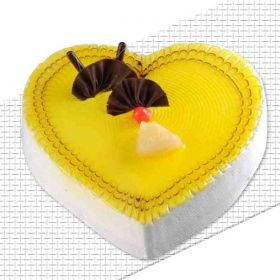 1 kg Pineapple Heart Cake