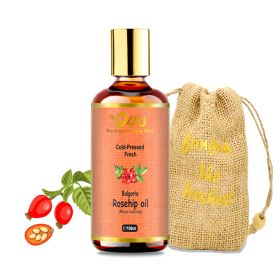 O4U Rosehip Cold Pressed Oil for skin, hair & men