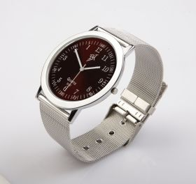 E157: Wrist Watch Red Dial E157RDWSTBK