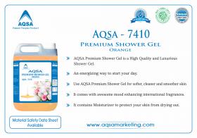 AQSA – 7410 Premium Shower Gel Orange