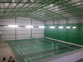 Synthetic Badminton Mat