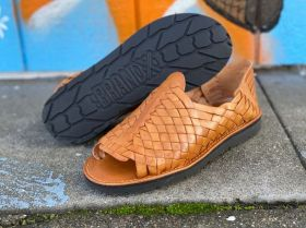 Leather Huaraches from Brand X Huaraches