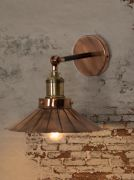 Copper Umbrella Wall Light