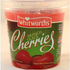 Whitworths French Glace Cherries 100g