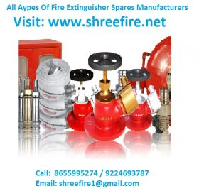 All Types Of Fire Extinguisher Spares Manufacturer