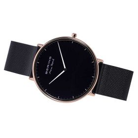 Bering Max Rene Black Analog Men's Watch