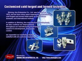 Metal stamping parts made in Taiwan