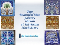 Blue Pottery Murals