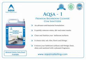 Premium Bathroom Cleaner Cum Sanitizer - AQSA – 1