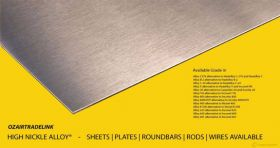 High Nickle Alloy Products | Manufacturer,Stockies