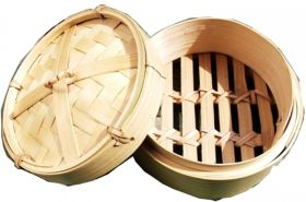 Bamboo Dim sim Basket