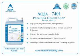 Premium Liquid Soap Pearl White - AQSA – 7401