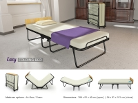 Easy folding bed
