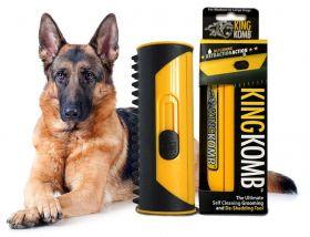 German Shepherd Shedding with KingKomb's Dog Brush
