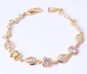 American Diamond Fancy Bracelet-Cartlay