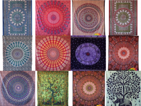 Indian Wall Hanging Mandala Tapestry