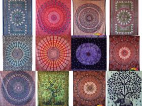 Indian Wall Hanging Mandala Tapestry