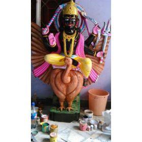 Shani Dev Black Statue