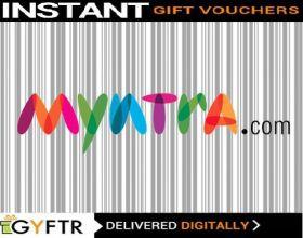 Myntra Gift Vouchers