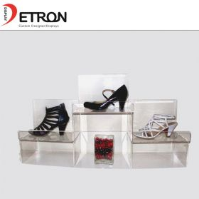 retail shoes acrylic display stand