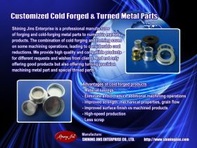 Industrial metal cold forging and stamping