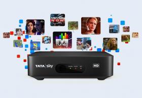 Tatasky HD BOX +HINDI LITE HD PACK ₹1150ON YOUR DI
