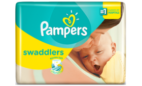Pampers Swaddlers Diapers Size 1 |Storkkd Baby Bun