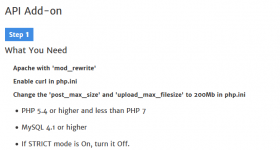 API Add-on - Enterprise PM Software