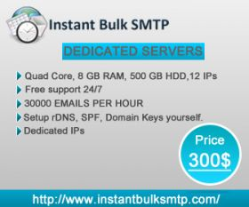 SMTP dedicated server can help to promote