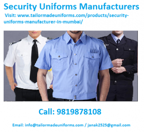 Security Uniforms Manufacturers