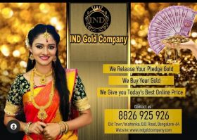 IND Gold Buyers - Release Pledged Gold | Sell Gold