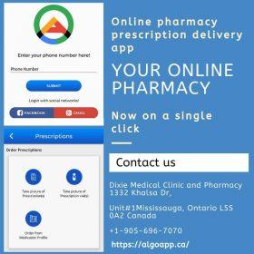 Online pharmacy prescription delivery app Canada