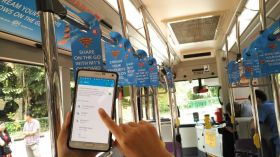 CCTV and Wifi in Train/Bus