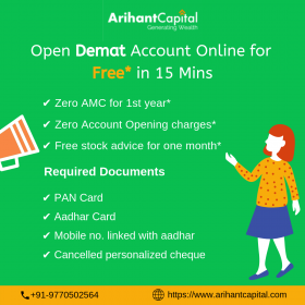 Open Demat Account Online for Free* in 15 Mins | A