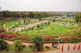 The KRS dam and Brindavan Gardens
