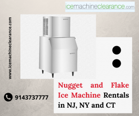 Nugget and Flake Ice Machine Rentals in NJ, NY and