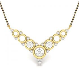 CLASPED CIRCLE MANGALSUTRA