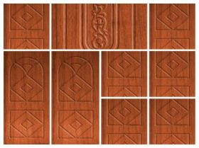 Wooden  Doors | Wooden Panel and Primer Doors