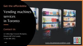 Get affordable vending machines services Toronto